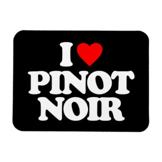 I LOVE PINOT NOIR RECTANGULAR PHOTO MAGNET