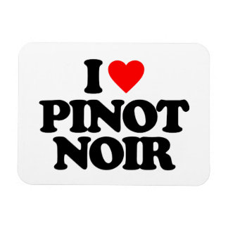 I LOVE PINOT NOIR FLEXIBLE MAGNET