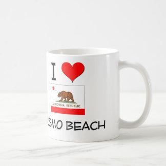 I Love PISMO BEACH California Coffee Mug