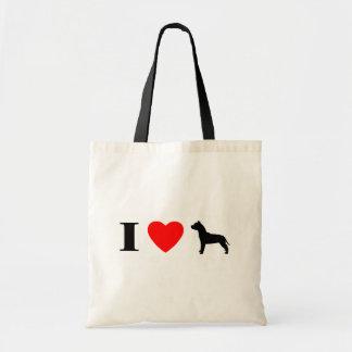 I Love Pit Bulls Bag