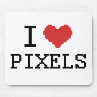 I Love Pixels / I Heart Pixels Mouse Mat