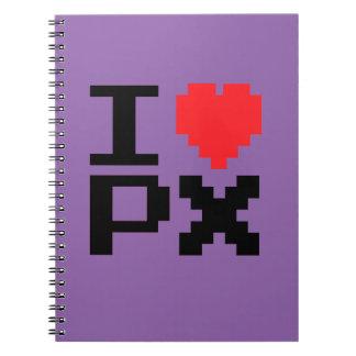 I Love Pixels Notebooks