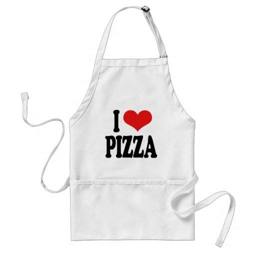 I Love Pizza Aprons