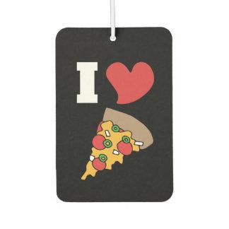 i love pizza car air freshener