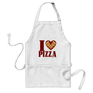 I Love Pizza Standard Apron