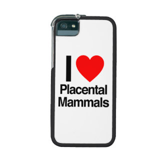 i love placental mammals case for iPhone 5/5S