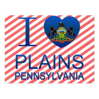 I Love Plains, PA Post Cards