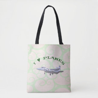 I Love Planes - F15D Eagle Tote Bag