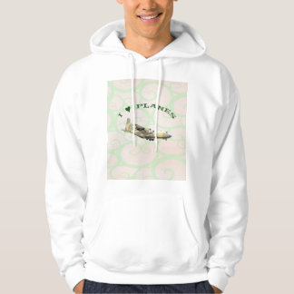 I Love Planes - Hercules Aircraft Hoodie