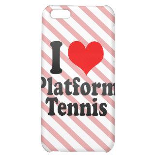 I love Platform Tennis iPhone 5C Cases