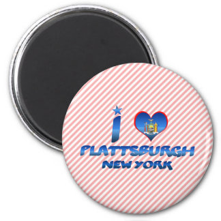 I love Plattsburgh, New York Magnet