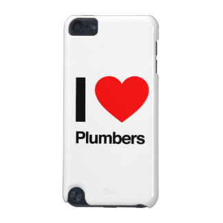 i love plumbers iPod touch (5th generation) cases