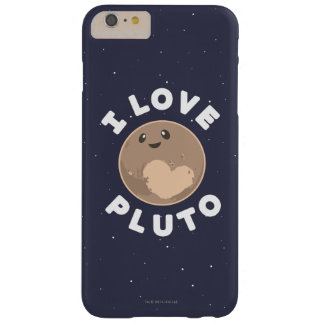 I Love Pluto Barely There iPhone 6 Plus Case