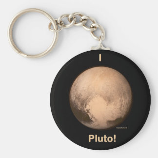 I love Pluto Key Ring
