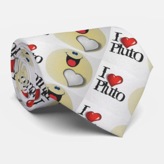 I love Pluto Tie