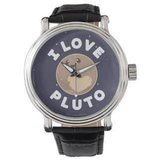 I Love Pluto Watch