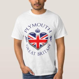 I Love Plymouth T-Shirt