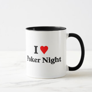 I love poker night mug