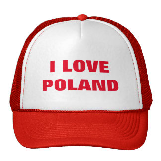 I LOVE POLAND CAP