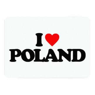 I LOVE POLAND CUSTOM ANNOUNCEMENT