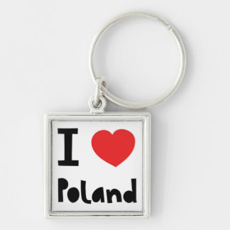 I love Poland Key Ring
