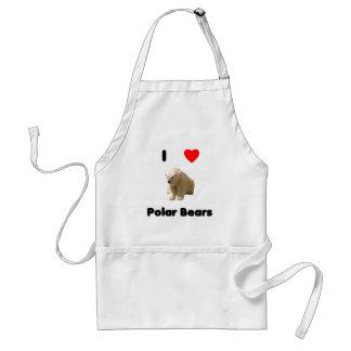 I love polar bears Apron