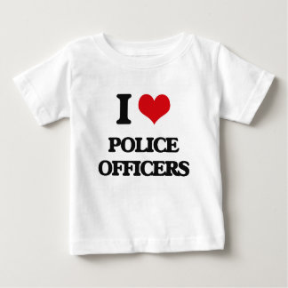 I love Police Officers T-shirts