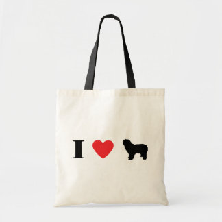 I Love Polish Lowland Sheepdogs Bag