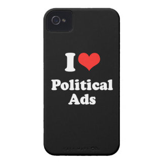 I LOVE POLITICAL ADS png Blackberry Cases
