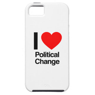 i love political change iPhone 5 cases