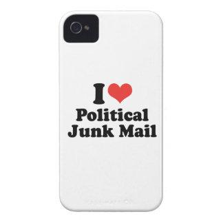 I LOVE POLITICAL JUNK MAIL - .png iPhone 4 Case-Mate Case