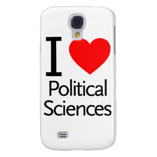 I Love Political Science Samsung Galaxy S4 Cases