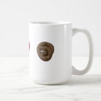 I Love Poo Mug