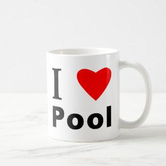 I Love Pool Coffee Mug