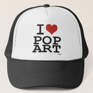 I love Pop Art Trucker Hat
