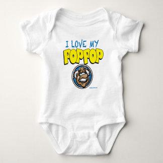 I Love Pop Pop Baby Bodysuit