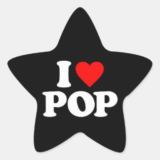 I LOVE POP STICKERS