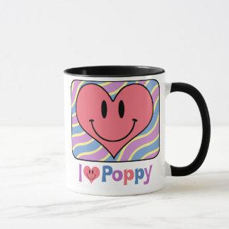 I Love Poppy Mug