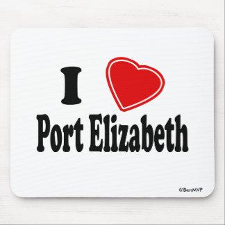 I Love Port Elizabeth Mouse Pad