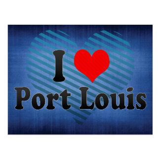 I Love Port Louis, Mauritius Postcard