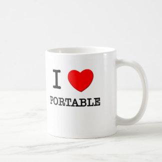 I Love Portable Mug