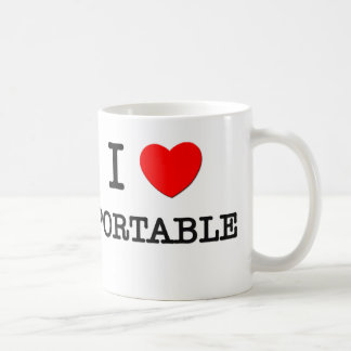 I Love Portable Coffee Mug