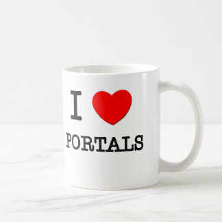 I Love Portals Coffee Mug