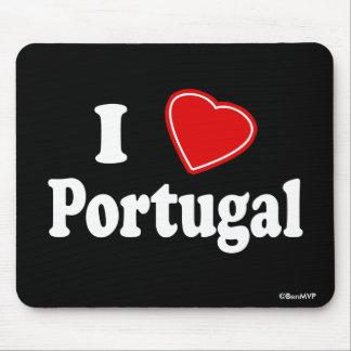 I Love Portugal Mousepads