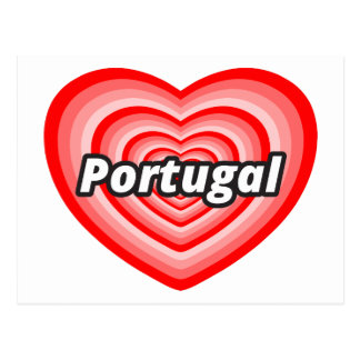 I love Portugal Postcard