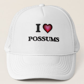 I Love Possums Trucker Hat
