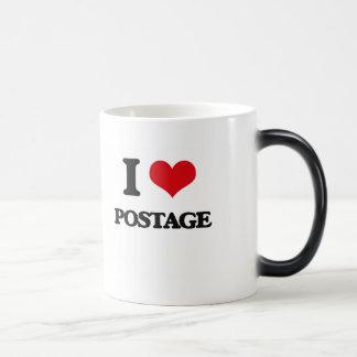 I Love Postage Morphing Mug
