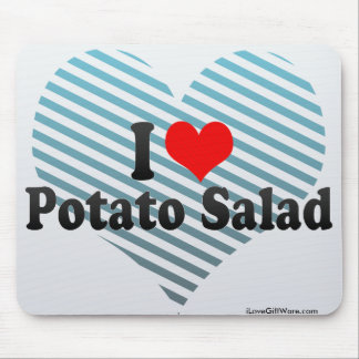 I Love Potato Salad Mouse Pad