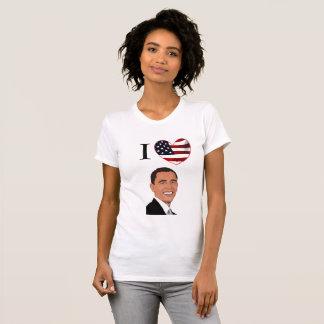 I Love President Barack Obama Shirt