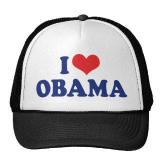I Love President Obama Hats